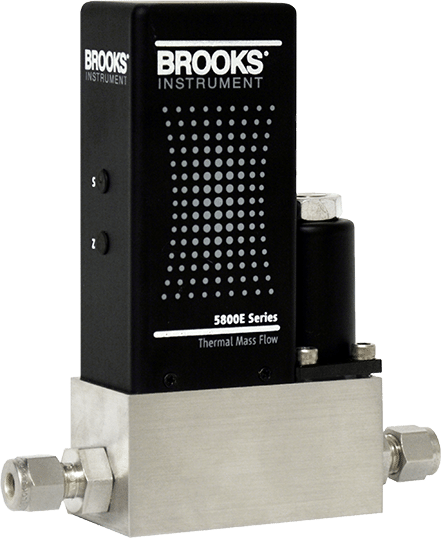 Brooks Instrument 5850E & i Series Elastomer Sealed Thermal Mass Flow Controllers & Meters